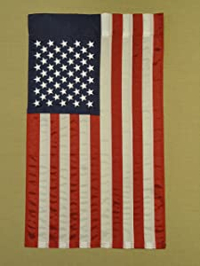 Annin Flagmakers 379308 American US Garden 12x18 in. NYL-Glo 100% Made in USA Flag