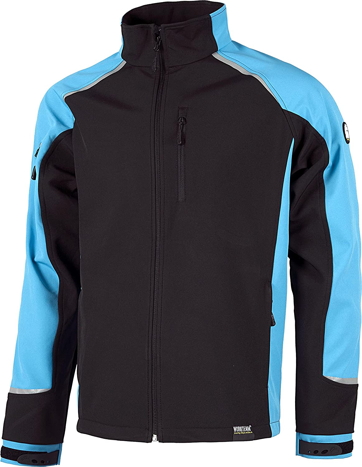 CHAQUETA WORKSHELL S9498 NGR/AZUL T-S: Amazon.es: Bricolaje ...
