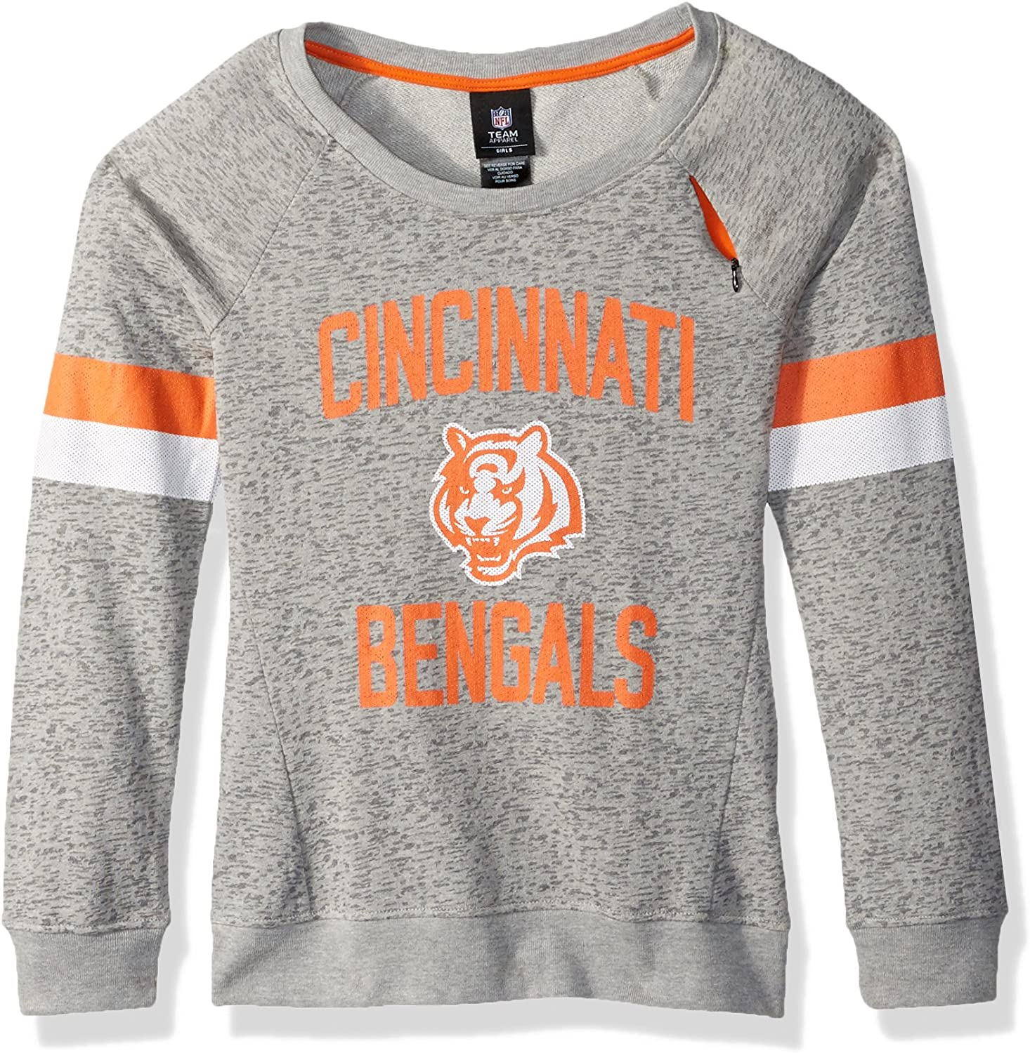 NFL Girls 716 My City Long sleeve Boatneck Pullover Sweatshirt