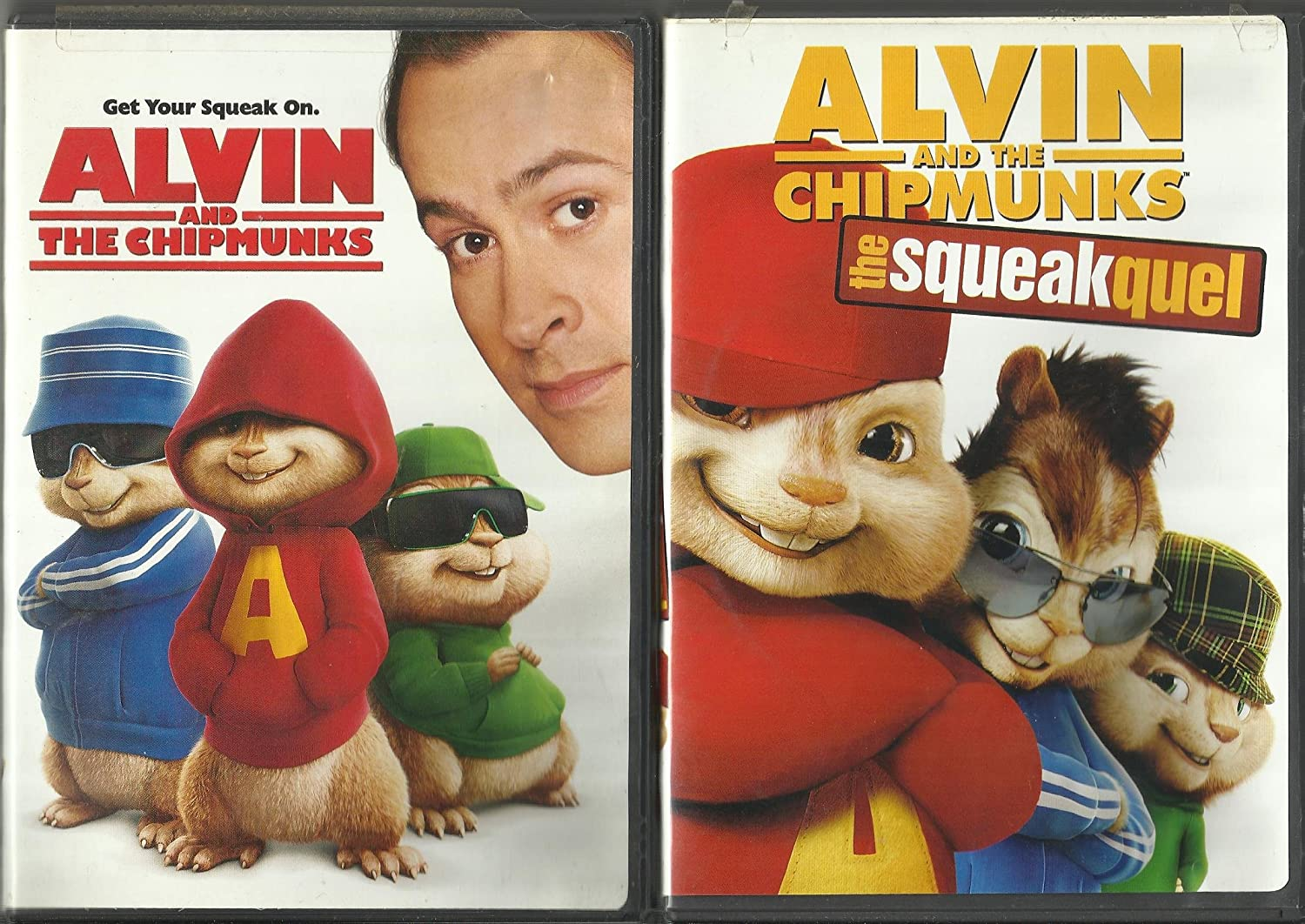Amazon Com Alvin And The Chipmunks Movie Trilogy Alvin And The