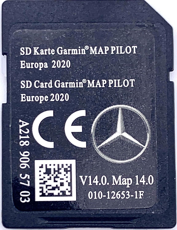Tarjeta SD de actualización de mapas de navegación para Mercedes-Benz Garmin MAP PILOT 2018 - A2189063303: Amazon.es: Electrónica