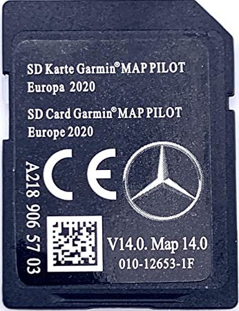 Imagen deTarjeta SD GPS Mercedes Garmin Map Pilot Europe 2019-2020 - STAR1 - v13 - A2189065603