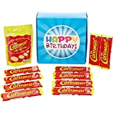 The Ultimate Nestle Caramac Chocolate Lovers Happy Birthday Gift Box - By Moreton Gifts - Full of Caramac Bars and Giant Buttons Pouch