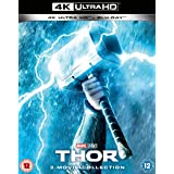 Marvel Studios Thor Trilogy [Blu-ray + UHD] [2019] [Region Free]