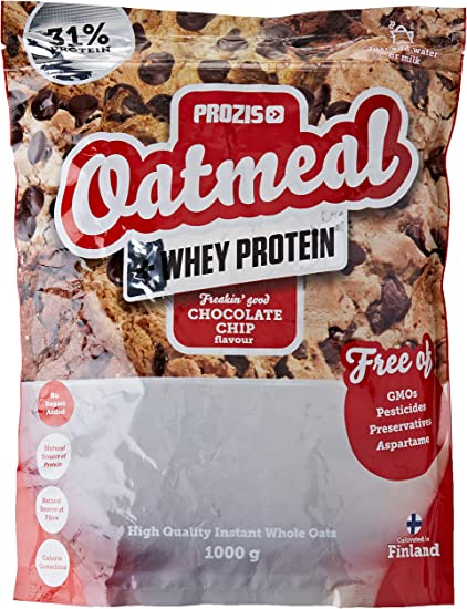 Prozis Oatmeal con Whey Protein 1000g - Cereales Repletos de ...