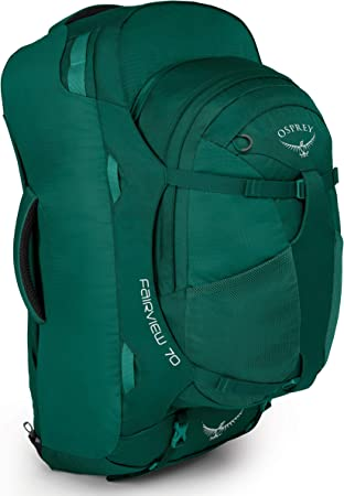 Osprey Fairview 70 Womens Travel Pack with 13L Detachable Daypack ...