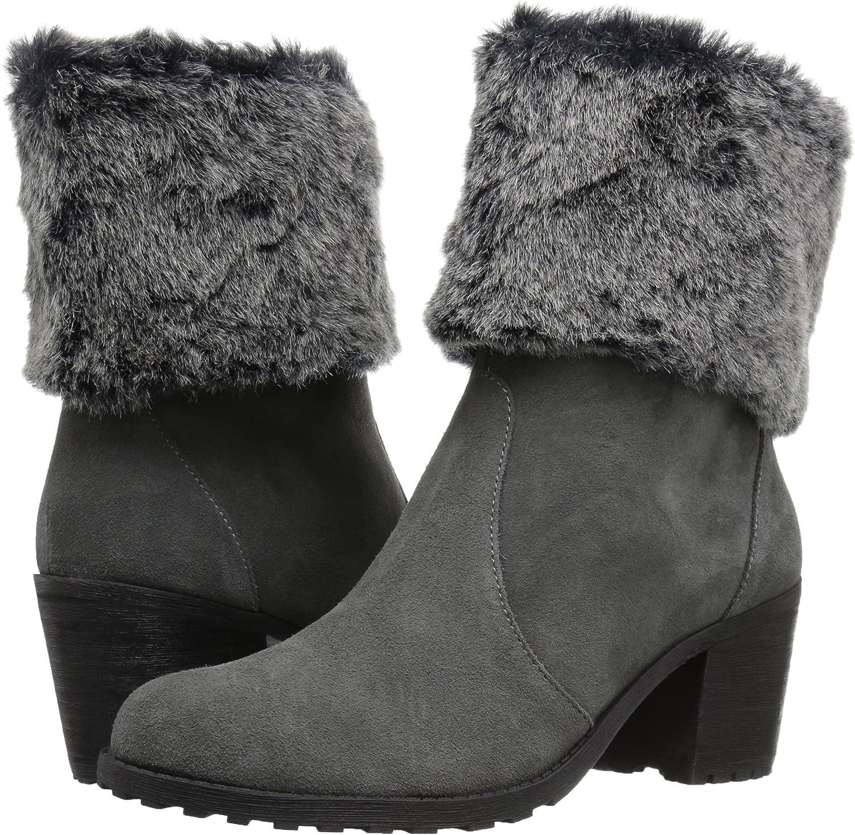 Aerosoles Womens Incognito Fur Collar Boot