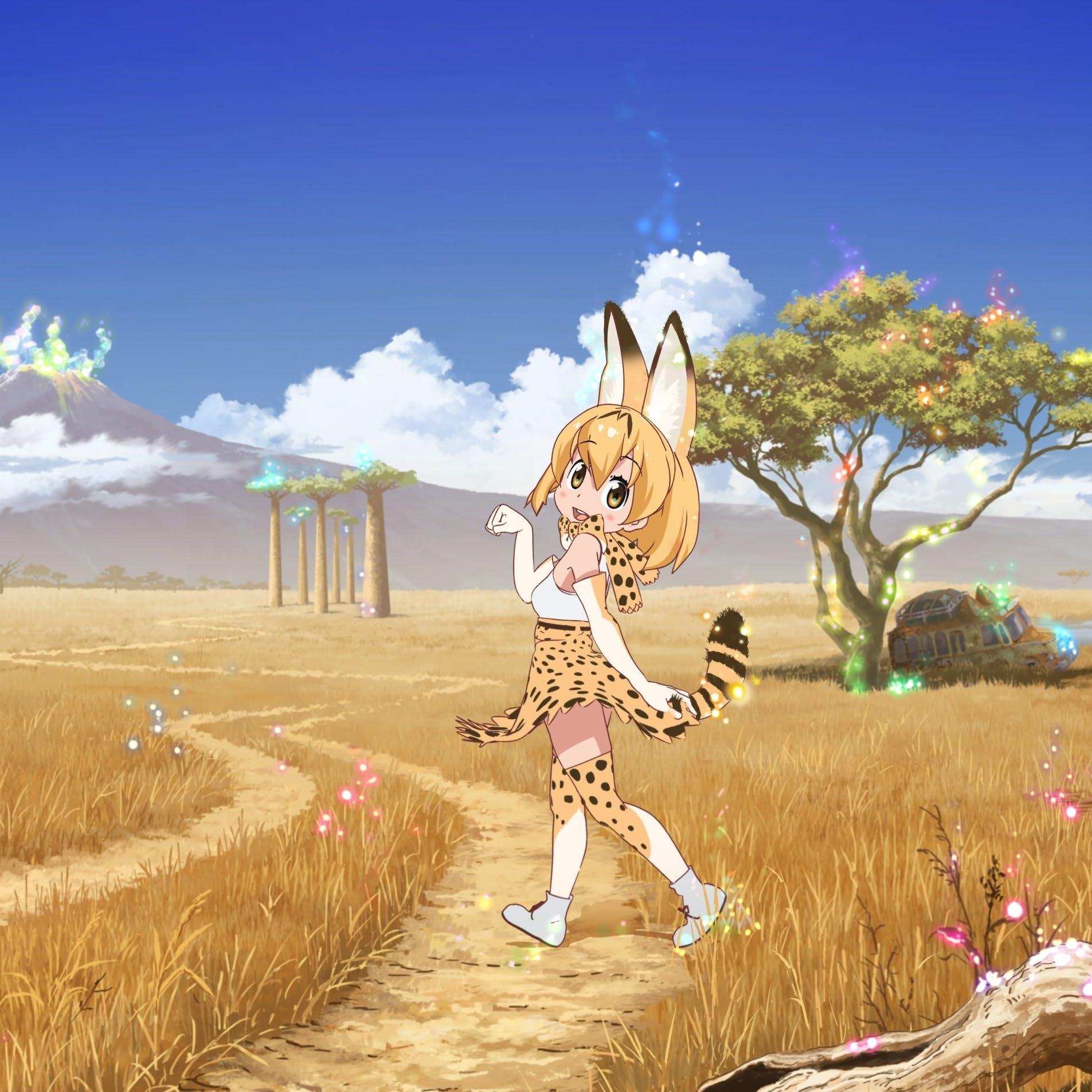けものフレンズ サーバル Serval Cat Ipad壁紙 画像61789 スマポ
