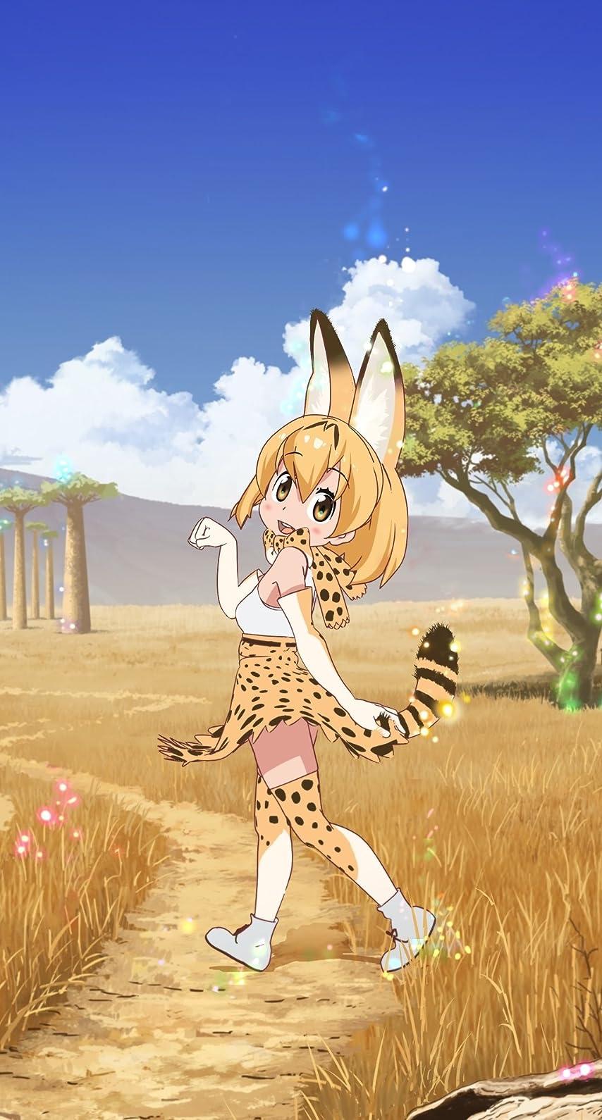 けものフレンズ サーバル Serval Cat Iphone8 7 6s 6 壁紙 視差効果