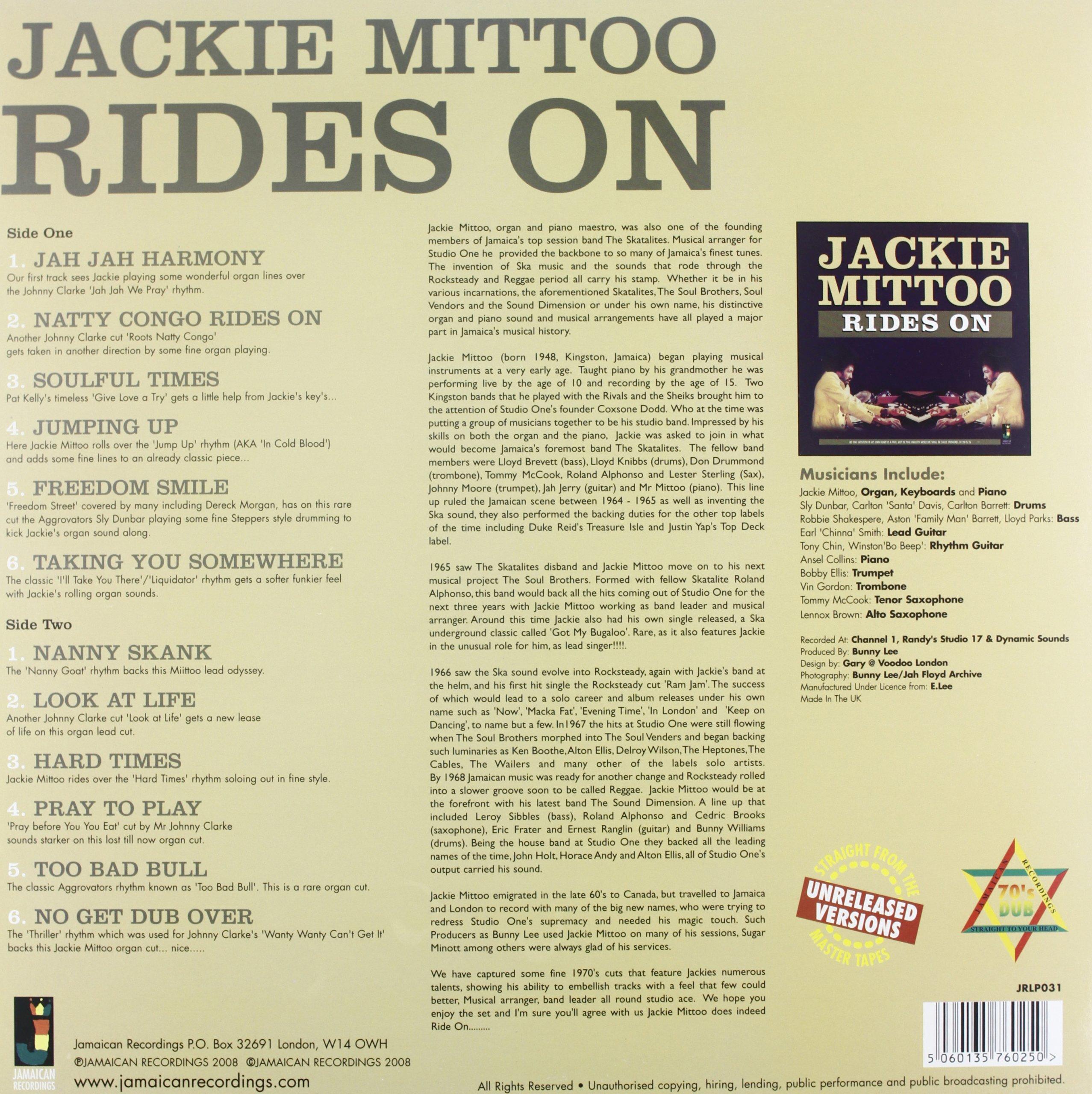 Rides on [Vinyl]