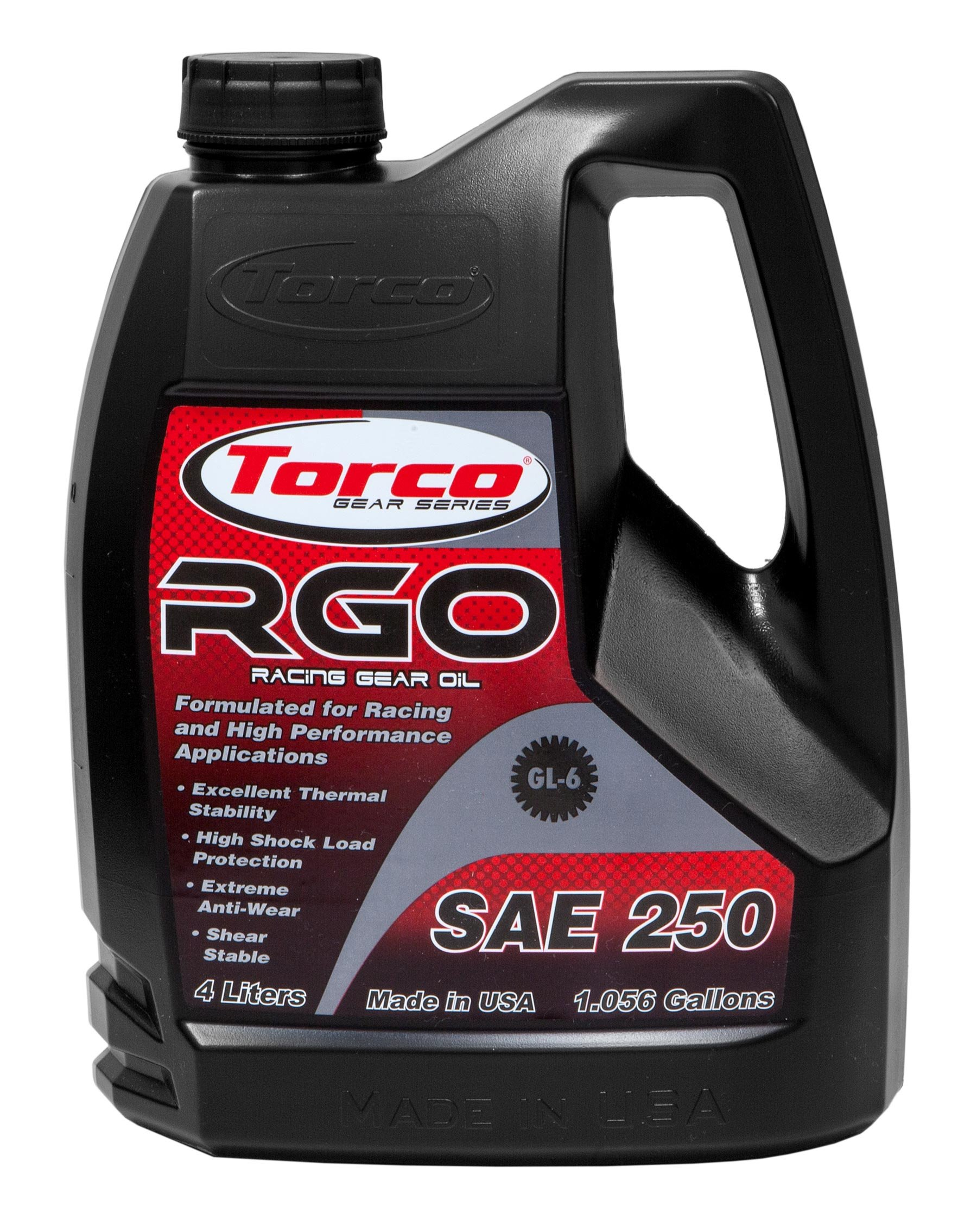 Torco A240250E Racing Gear Oil, 5 gallon by Torco