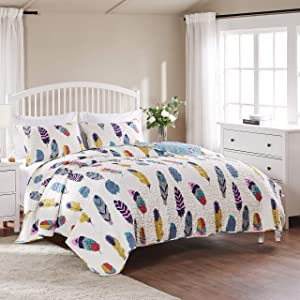 Greenland Home Dream Catcher Quilt Set, 3-Piece King/Cal King