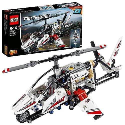LEGO Technic - L'hélicoptère ultra-léger - 42057 - Jeu de Construction