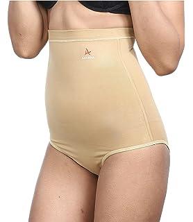 6faccf638b50b Aaram Women s Bamboo Panty Tummy Tucker (Off-white)  Amazon.in ...