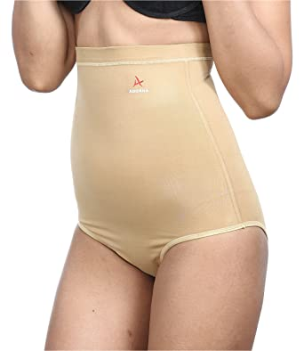 Adorna Low Waist Panty Ladies Shapewear Women's Waist Cinchers at amazon
