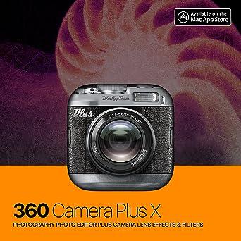Amazon com: 360 Camera Plus for Mac - photography photo editor plus