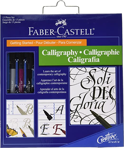 Faber-Castell Getting Started Calligraphy Kit-: Amazon.es: Hogar