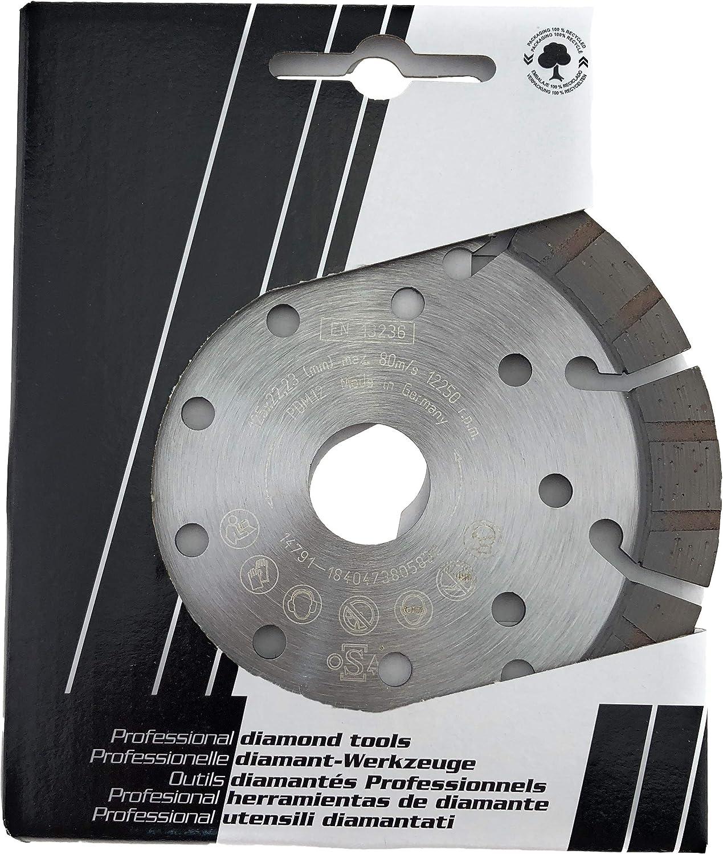PDX82.118 125mm PRODIAMANT Qualit/é Professionnelle Disque /à tron/çonner diamant B/éton//Granit 125 x 22,2 mm