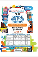 Oswaal CBSE Sample Question Paper Class 10 Mathematics Standard Book (For March 2020 Exam) Paperback
