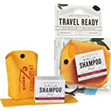 J.R.LIGGETT'S All-Natural Original Formula Shampoo Bar .65oz and Mini Travel EZ Pouch Pack, Supports Strong and Healthy…