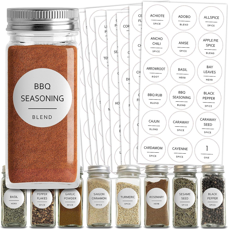 Details about  /150 Pcs Spice Sticker Kitchen Jar Labels Removable Organizer Storage Bottl C2U4