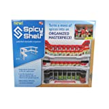Amazon Price History for:Spicy Shelf Patented Spice Rack and Stackable Organizer (1, Single Pack)