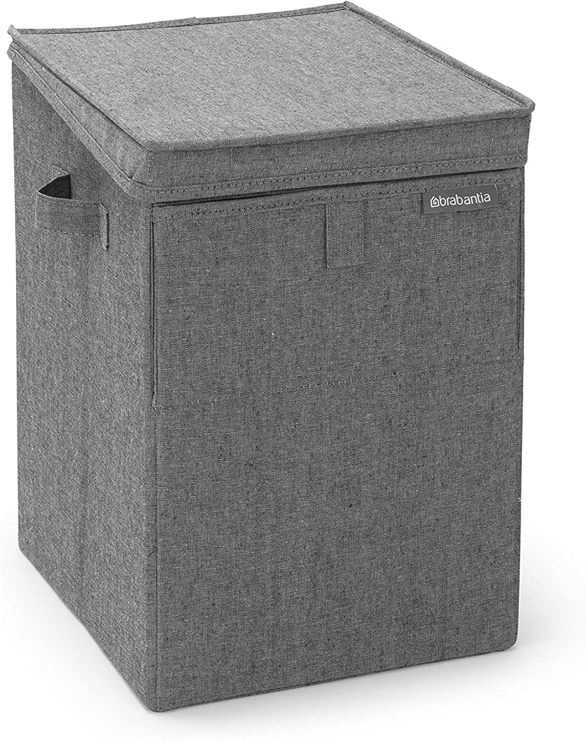 Brabantia Stackable Laundry Box, 9.2 Gallon (35L), Pepper Black