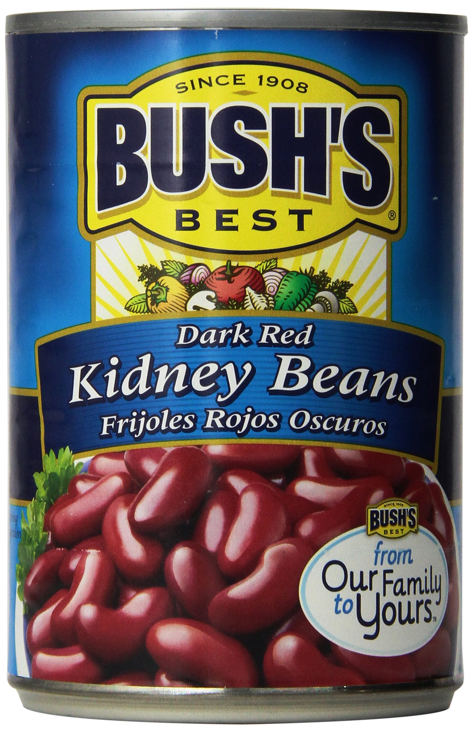 Bush's Best Dark Red Kidney Beans (3 pack)