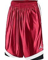 Jordan Court Vision Men's Basketball Shorts Red/Black/White 576638-695