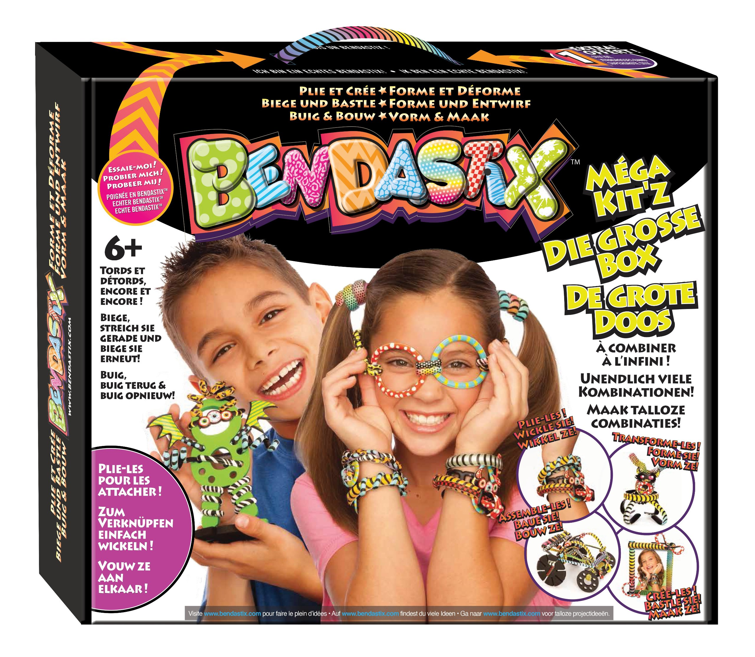 bulk buys Bendastix The Big Box Craft Kit