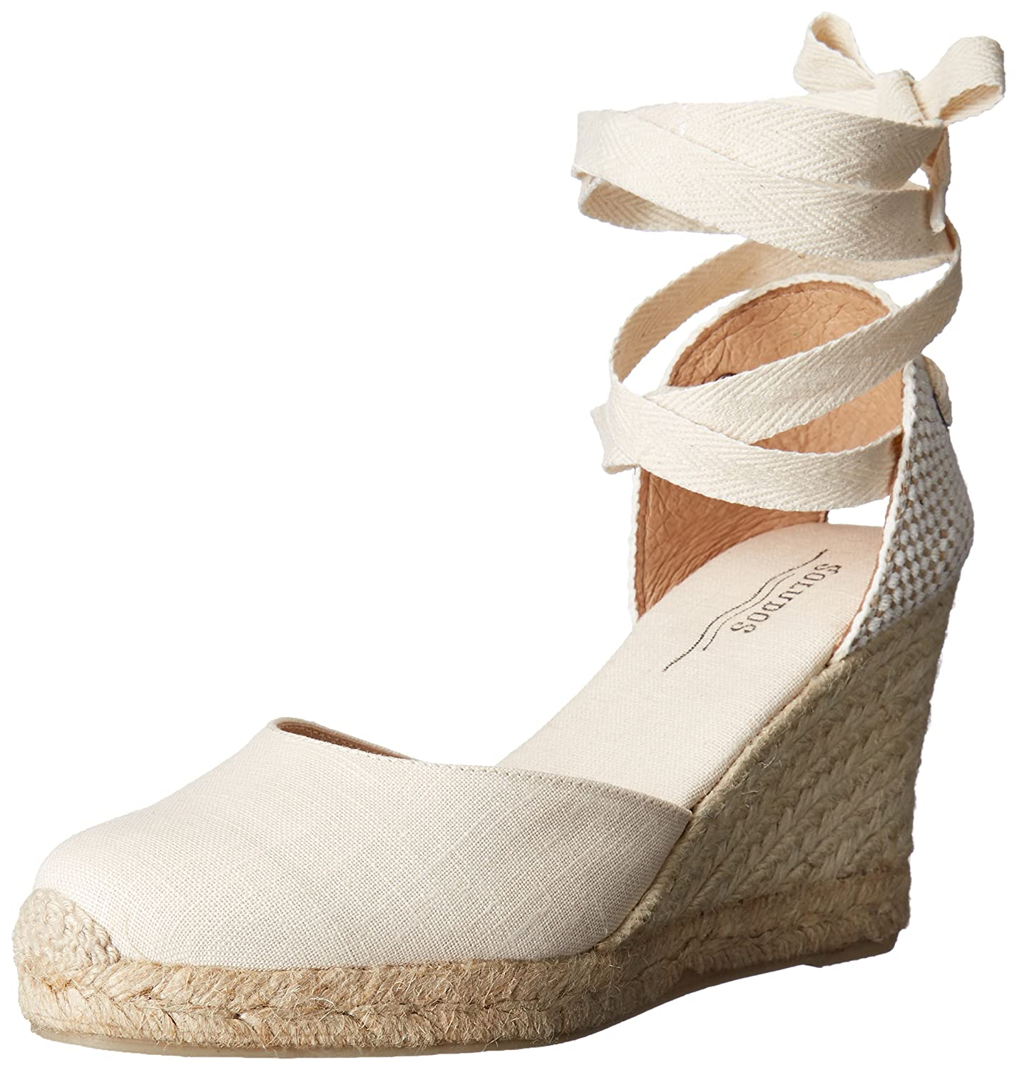 Soludos Women's Tall (90mm) Wedge Sandal B016ZQ5HT6 10 B(M) US|Blush