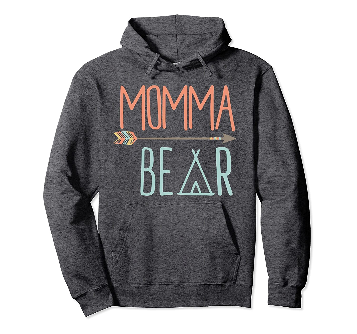 Cute Momma Bear Hoodie Mom Hoodie-TH