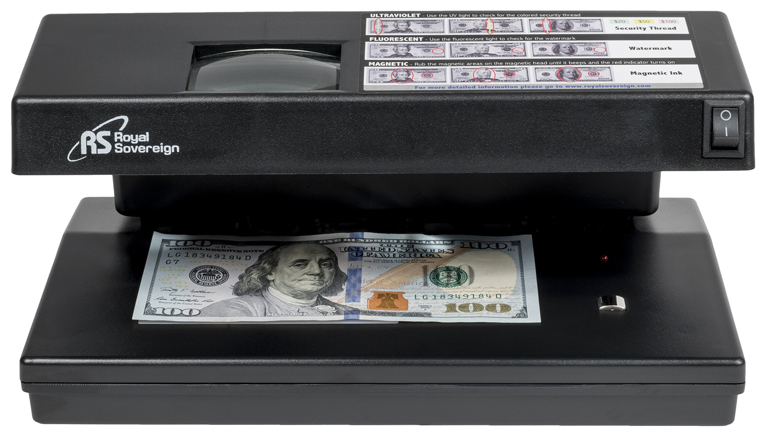 Royal Sovereign Four-Way Countertop Counterfeit Detector (RCD-2000) by Royal Sovereign