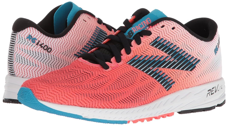 New Balance Women's 1400v6 Running Shoe B0751TKFD1 8 B(M) US|Pink/Black