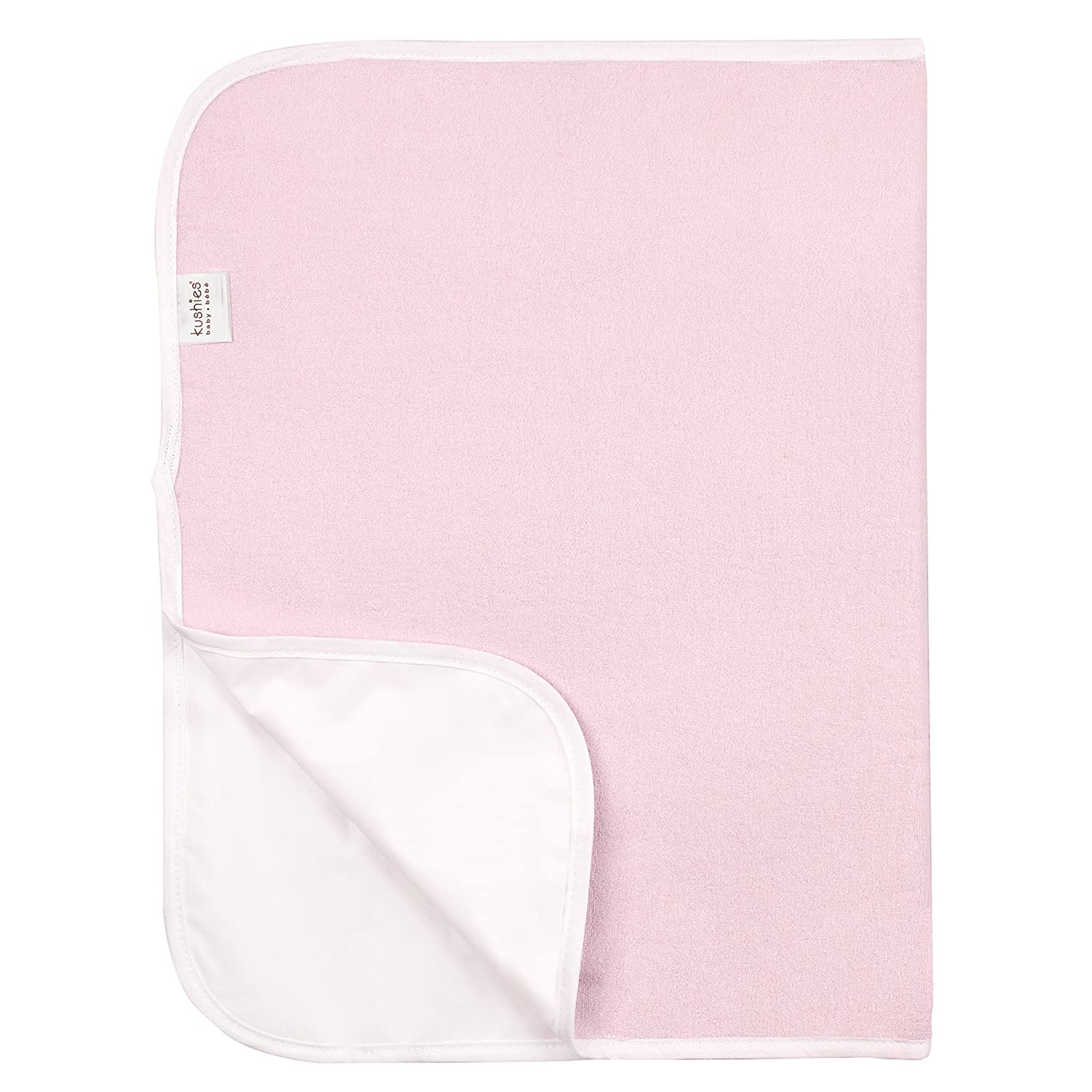 Kushies Deluxe Change Pad Terry, Pink Solid P215PNK