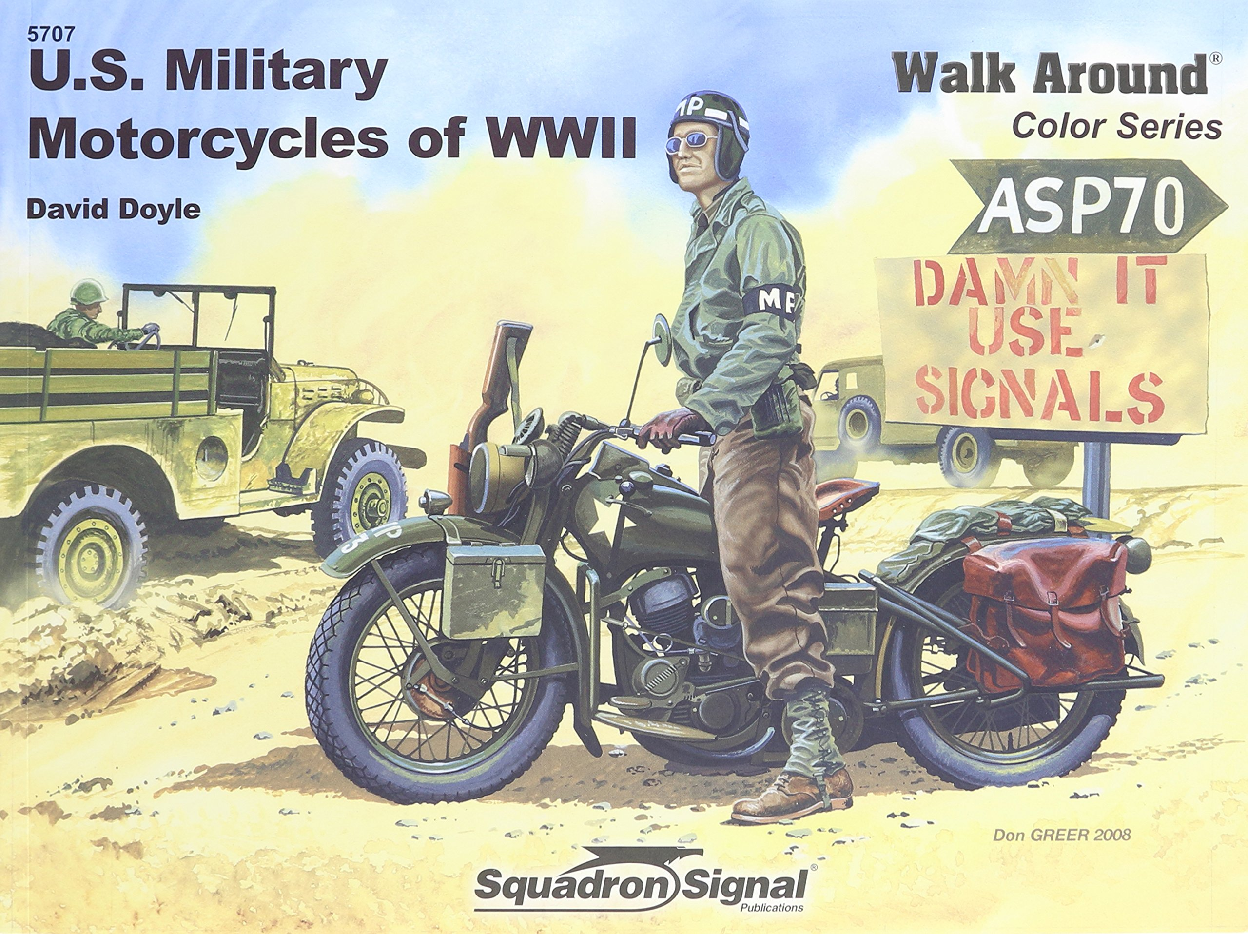Read Online US Military Motorcycles of WWII - Armor Walk Around Color Series No. 7 pdf