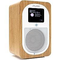 Pure Evoke H3 Portable FM/DAB+/DAB Digital Radio - Portable DAB Radio with Bluetooth, Dual Alarms and Full Colour…