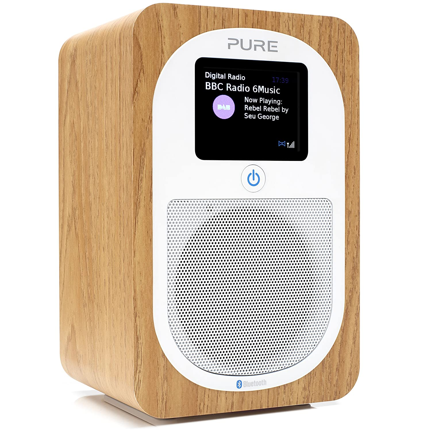 Pure Evoke H3 Radio (DAB/DAB+ Digital- und UKW-Radio mit Bluetooth und  Küchen-Timer) eiche: Amazon.de: Heimkino, TV & Video