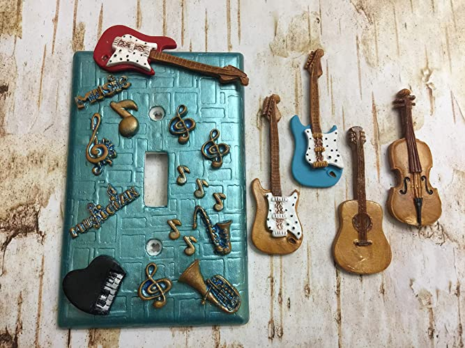 Amazoncom Handmade Light Switch Plate Or Outlet Cover Sculpture