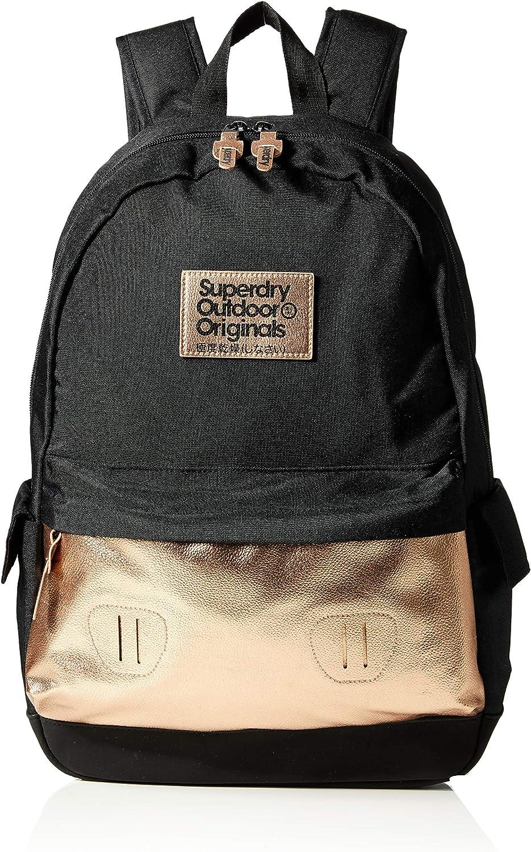 superdry rucksack 22 l schwarz