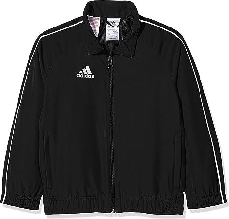 adidas Enfants core18 Jacket Veste de: : Sports et