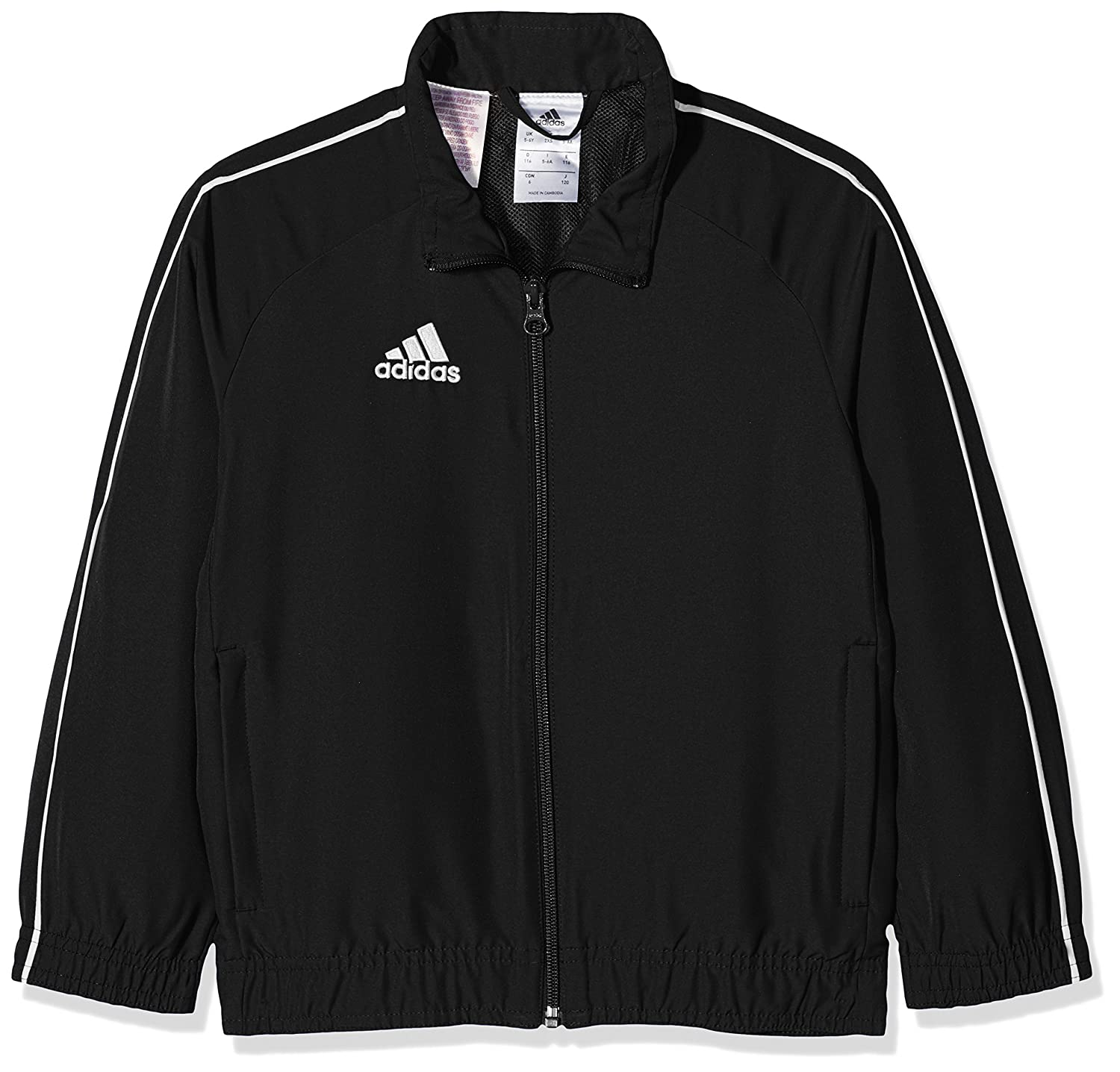 adidas Children's CORE18 Youth Presentation Jacket, Children's Children's