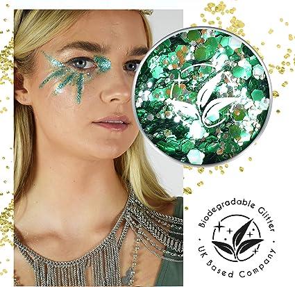 EcoStardust Pixie - Purpurina biodegradable para cara, cuerpo y ...