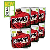 Amazon Price History for:Brawny Paper Towels, Tear-A-Square Sheets Strong and Absorbent, White, 12 Count
