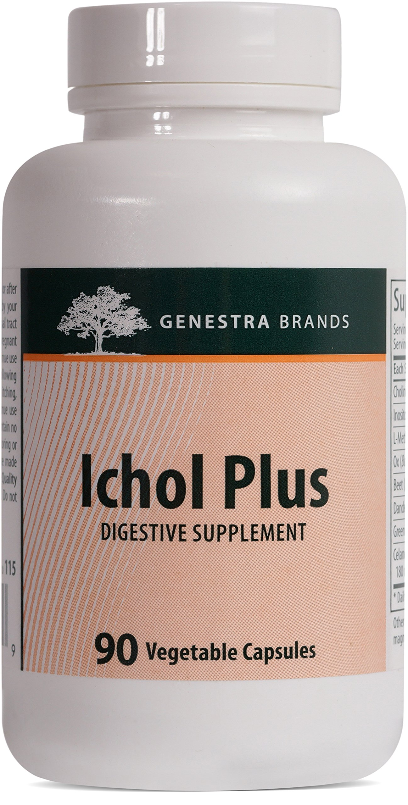 Genestra Brands - Ichol - Digestive Supplement* - 90 Tablets
