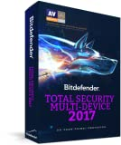 Bitdefender Total Security 2017, 5 Devices | 1 Year | PC, Mac, Andoid [Download Code]