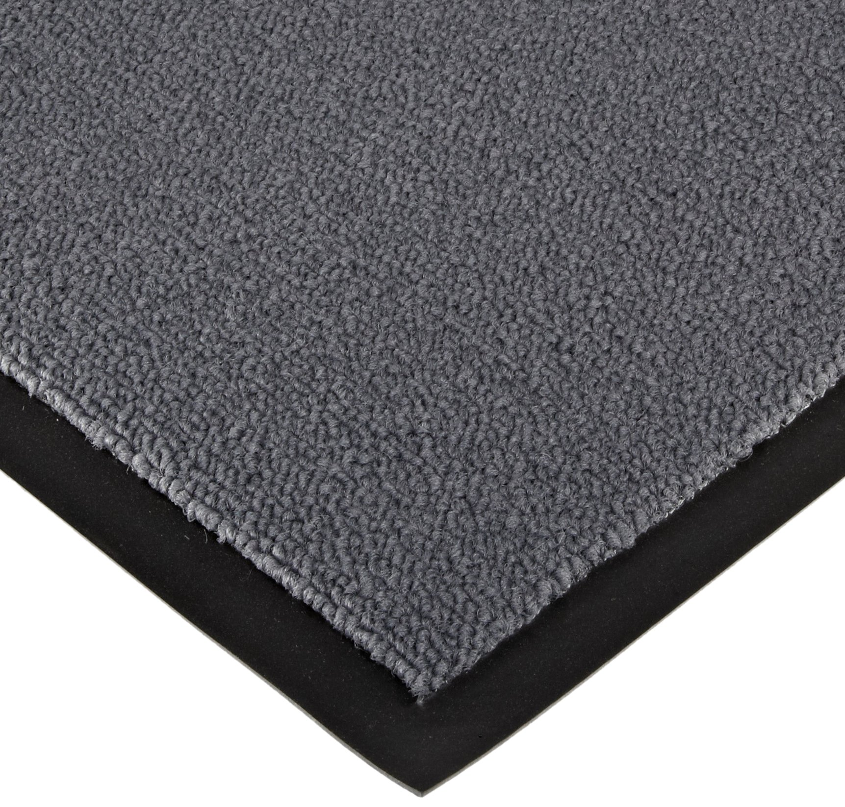 Notrax 141 Ovation Entrance Mat, for Main Entranceways and Heavy Traffic Areas, 4' Width x 6' Length x 5/16'' Thickness, Gray