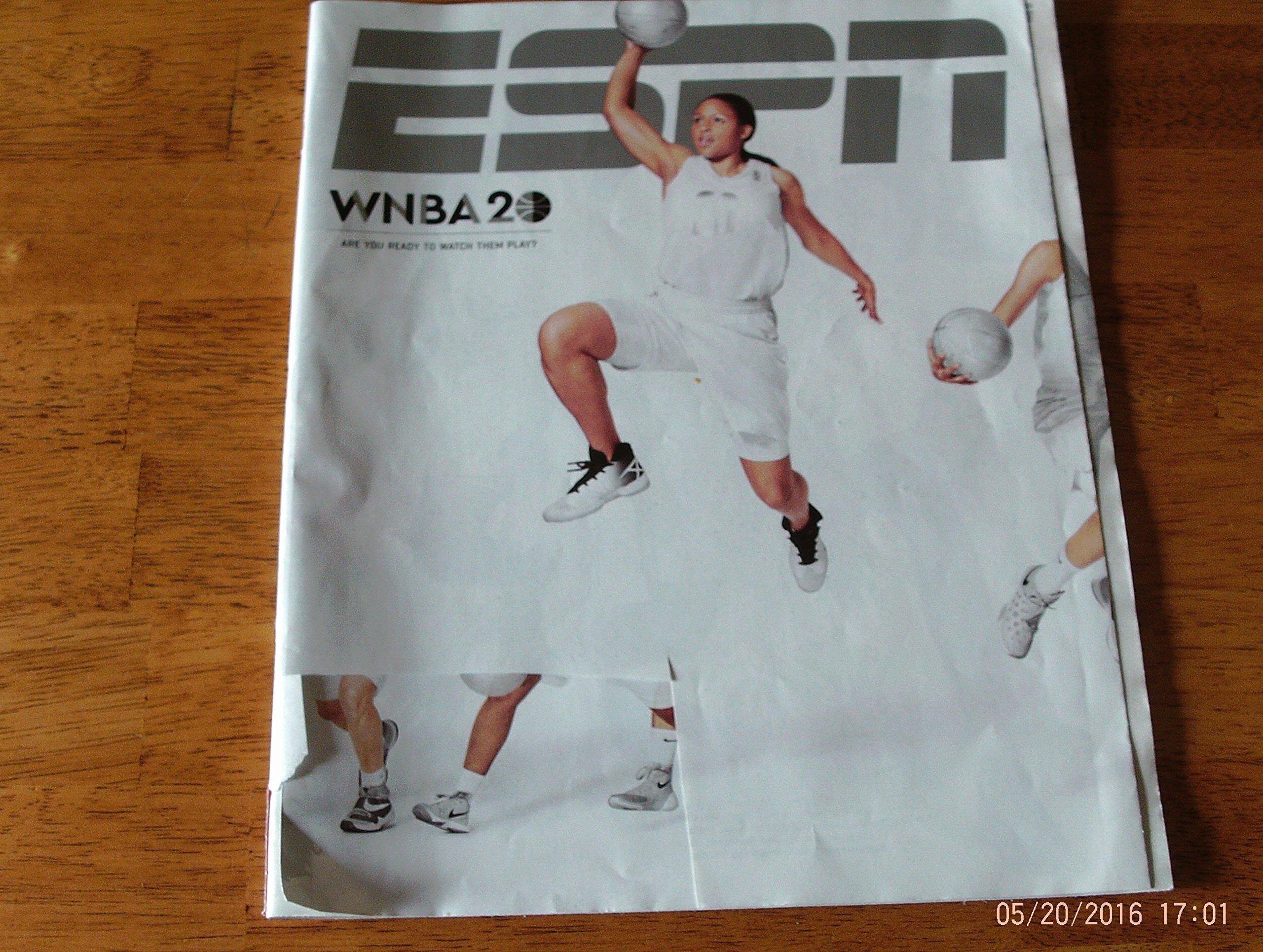 Read Online ESPN Magazine May 23, 2016 - WNBA 20 Issue pdf