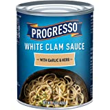 Progresso White Clam Sauce With Garlic & Herb, 15 oz Cans (Pack of 6)