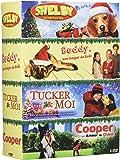 Coffret chien 4 DVD : Tucker et moi +Buddy+ Cooper+ Shelby